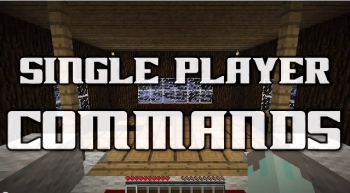 Single Player Commands [1.3.2]